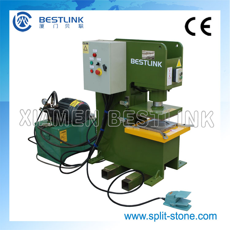 stone shapes cutting machine hydraulic stone block splitter cutter with high quality