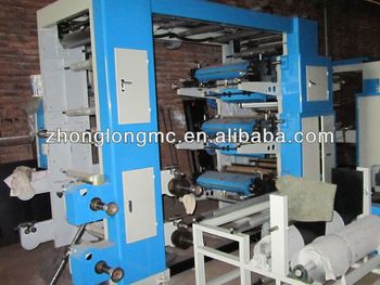 Flexography printing machine, flexo printer