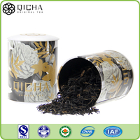 Organic black tea custom gift online wholesale black tea private label Iron tin