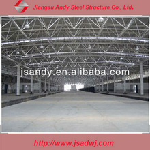 Prefabricated light steel structure shopping center workshop building
