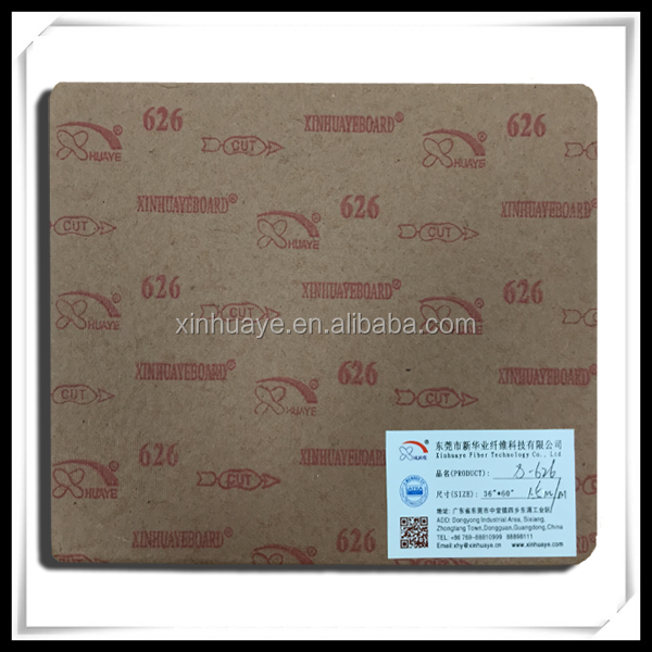 Xinhuaye 626 1.5mm Comfortable nsole Paper board for Height Insole