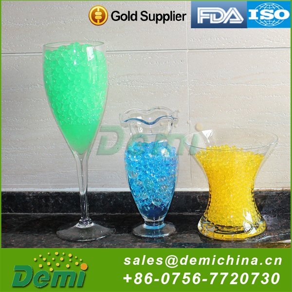 Hot sale best quality crystal mud soil water bead for party
