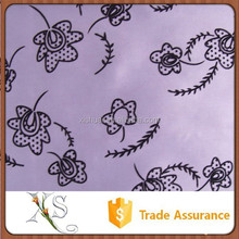 China Supplier Shinning Table Cloth Flock Fabric For Sofa Pillow Cover