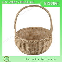 Factory wholesale round natural handled Wicker baguette basket /Cheap wicker bread baskets/Washable bread basket