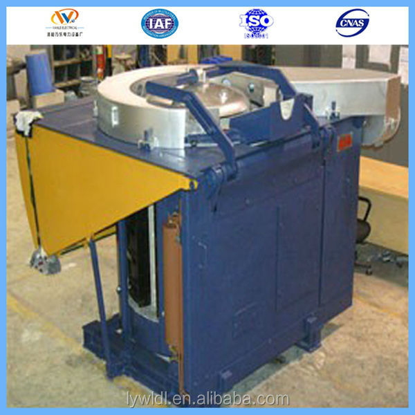 Electric CE Approved Small Scrap Steel/Bronze/Aluminum Melting Furnace For Sale