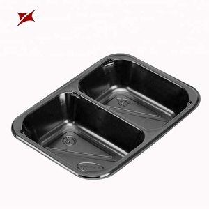 Quality assurance disposable CPET microwave plastic blister tray for food