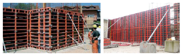 TSX-FW016 construction metal formwork system better than plastic formwork