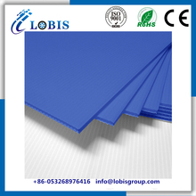 4mm Antistatic ESD PP Corrugated Black Plastic Sheet