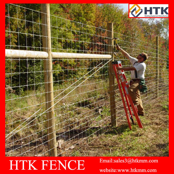 2.5mm Hot dipped galvanized Class 3 Golf Course Fence,Field Fence,Farm Fence