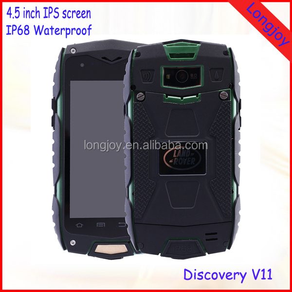 "Cheap Android 5.0 Tough Rugged IP68 Waterproof Mobile Phone 4"" MTK6582 Quad Core 8GB Dual SIM Phone with GPS"