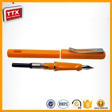 Hot sale high quality plastic fountain pen