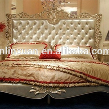 high luxury french neoclassic bedroom furniture royal european bed set BD8016