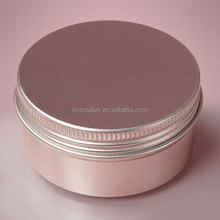 Aluminum Screw Top Tin Can With P.E. Cushion