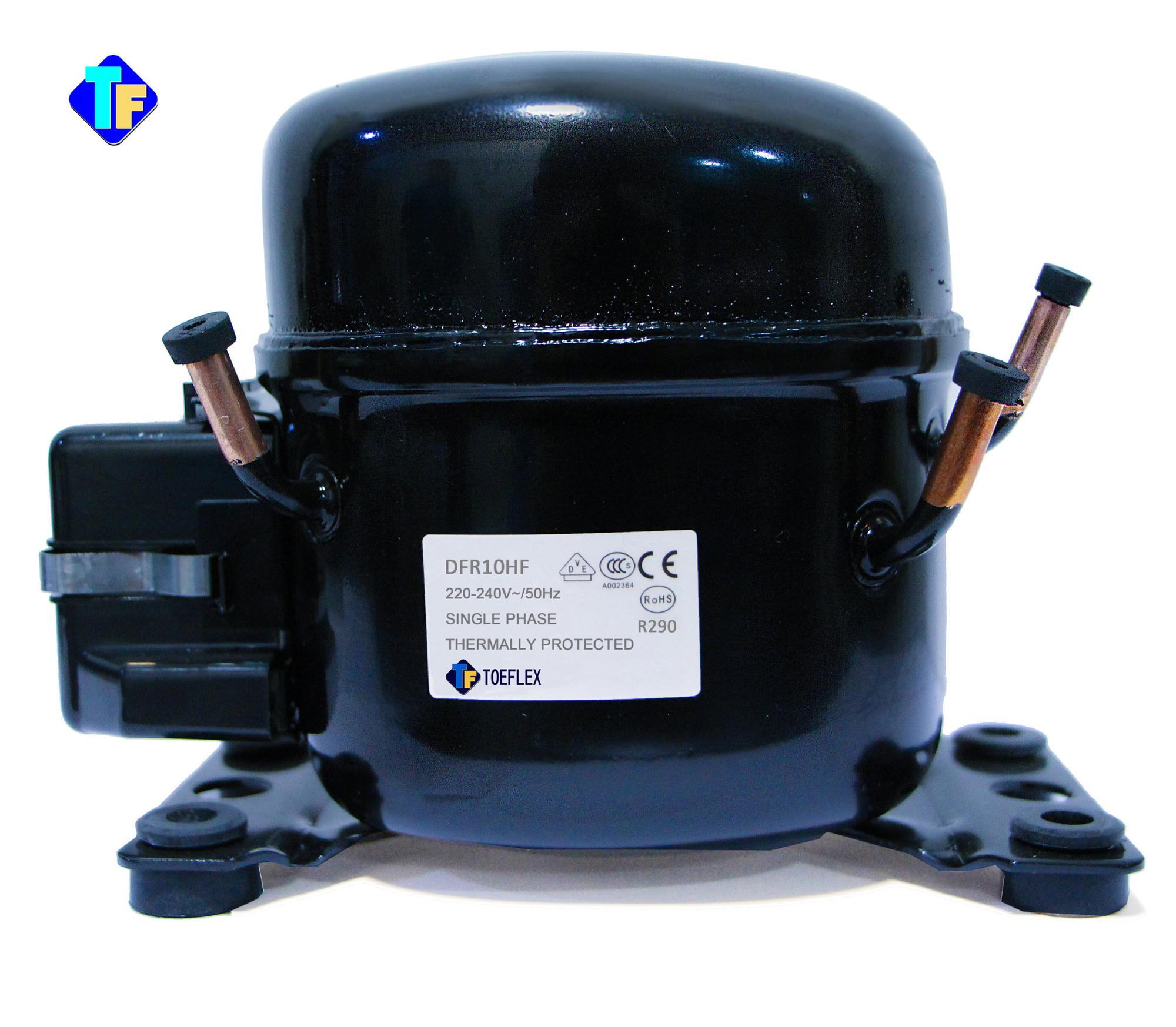 Refrigerator and green mini refrigerant R290 type Highly compressor