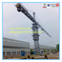 China factory direct sale QTZ80A(6011) 6t building/construction crane dtailed specific, tower crane specification