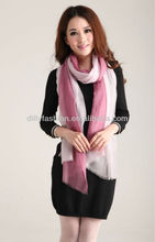 Fashion 100% cashmere colorful scarf, fashion scarf for women