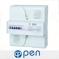 voltage current power meter display three phase digital energy meter price good display kwh meter digital 3 phase