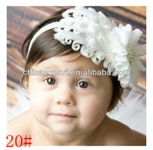 top elastic baby headband fashion cheap feather headband