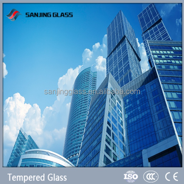1 4 tempered glass price for building