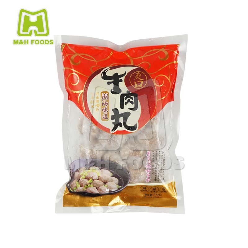 250g Chaoshan Area and Refreshing Beef Meatball In Vaccum Pack