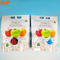 500ml Spout pouch juice drink bag/plastic water drink spout pouch bag/liquid stand up pouch with spout packaging