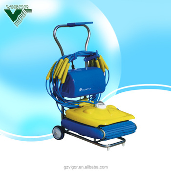 new design automatic swimming pool cleaner, View pool cleaner, Pikes, Emaux  Product Details from Guangzhou Vigor Health Equipment Co., Ltd. on ...