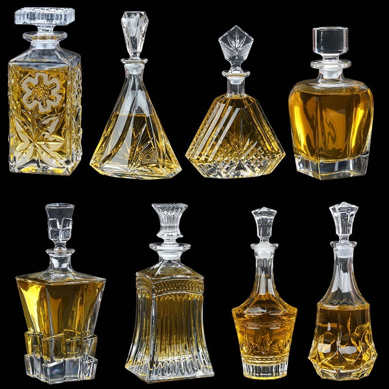 Wholesale Glass Decanter Crystal Wine Decanter Whiskey Decanter