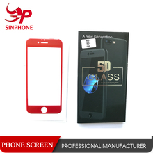 New Color Cell Phone 3D/4D/5D Tempered Glass Screen Protector
