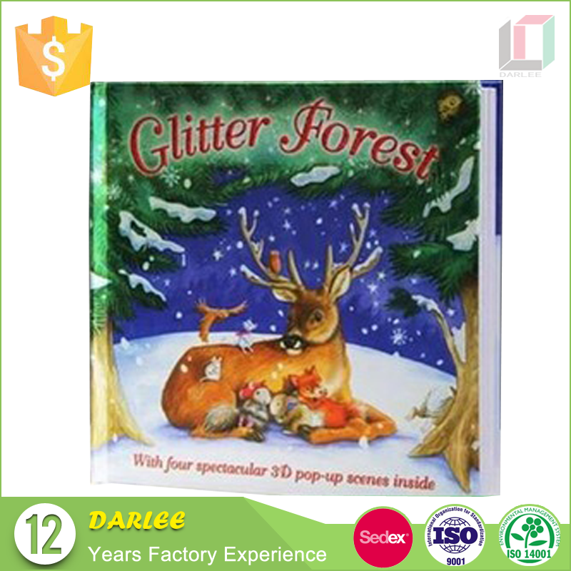 wholesale hardcover english animal story books printing for children