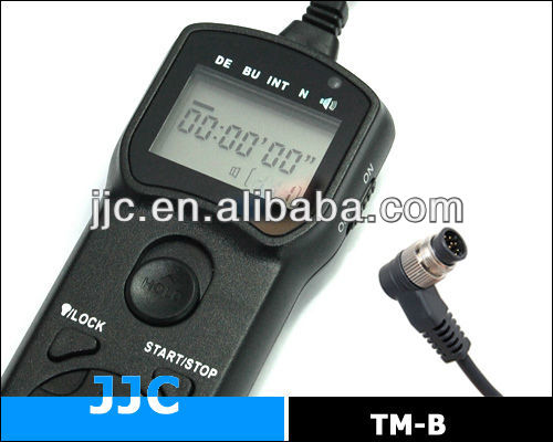 JJC TM-B Timer Remote Controller&Camera Remote Switch replaces NIKON MC-36/KODAK/FUJIFILM for Nikon D800