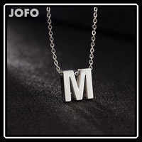 Chic Women Men Fashion English Letters Alphabet Words Pendant Short DIY Necklace SCC0075