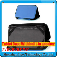 "Universal PU Leather Case with Speaker Sounder for 7"" Tablet PC PDA MID for Nexus 7"