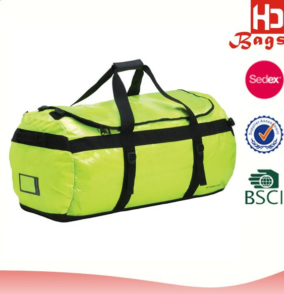 Fashional unique travel bag polo classic duffle waterproof traveler bag