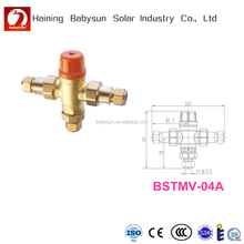 Solar Water Heater Brass Thermostatic Tempering Valve