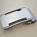 30mm R-0460-127 Classic custom hollow out two jiont belt buckle belt accessories 2 step buckle with clip for belt strap