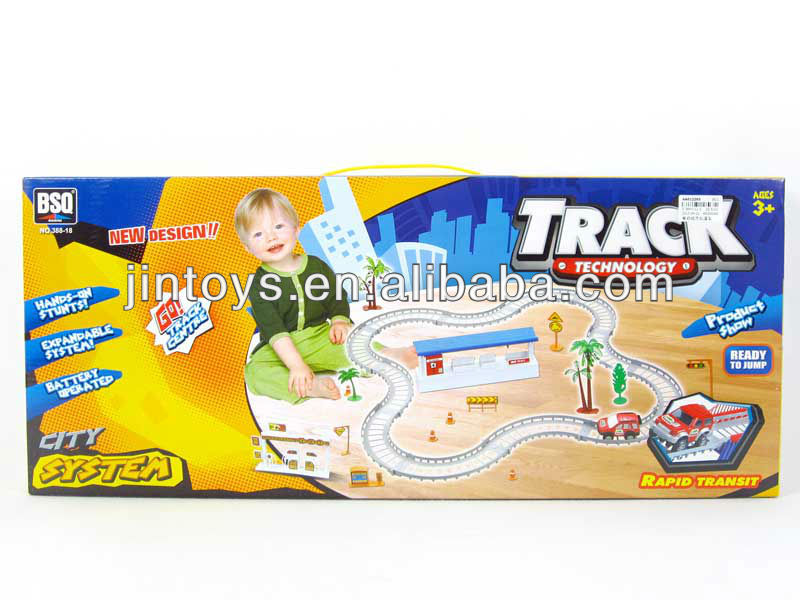 Battery Operated Super Track,Electronic Track,Toy Car