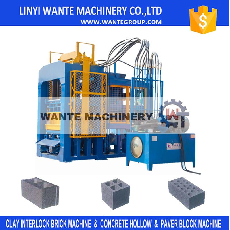 qt8-15 hollow block price philippines concrete roof slab brick making machine for wholesale