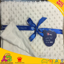 All baby love winter warmth neutral style textured dot cream baby blanket