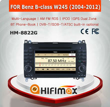 HIFIMAX WIN CE 6.0 Car DVD GPS For Mercedes Benz B class W245 2004-2012 Car GPS Navigation System