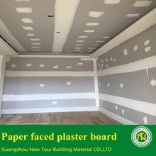 Paper faced plaster board for ceiling