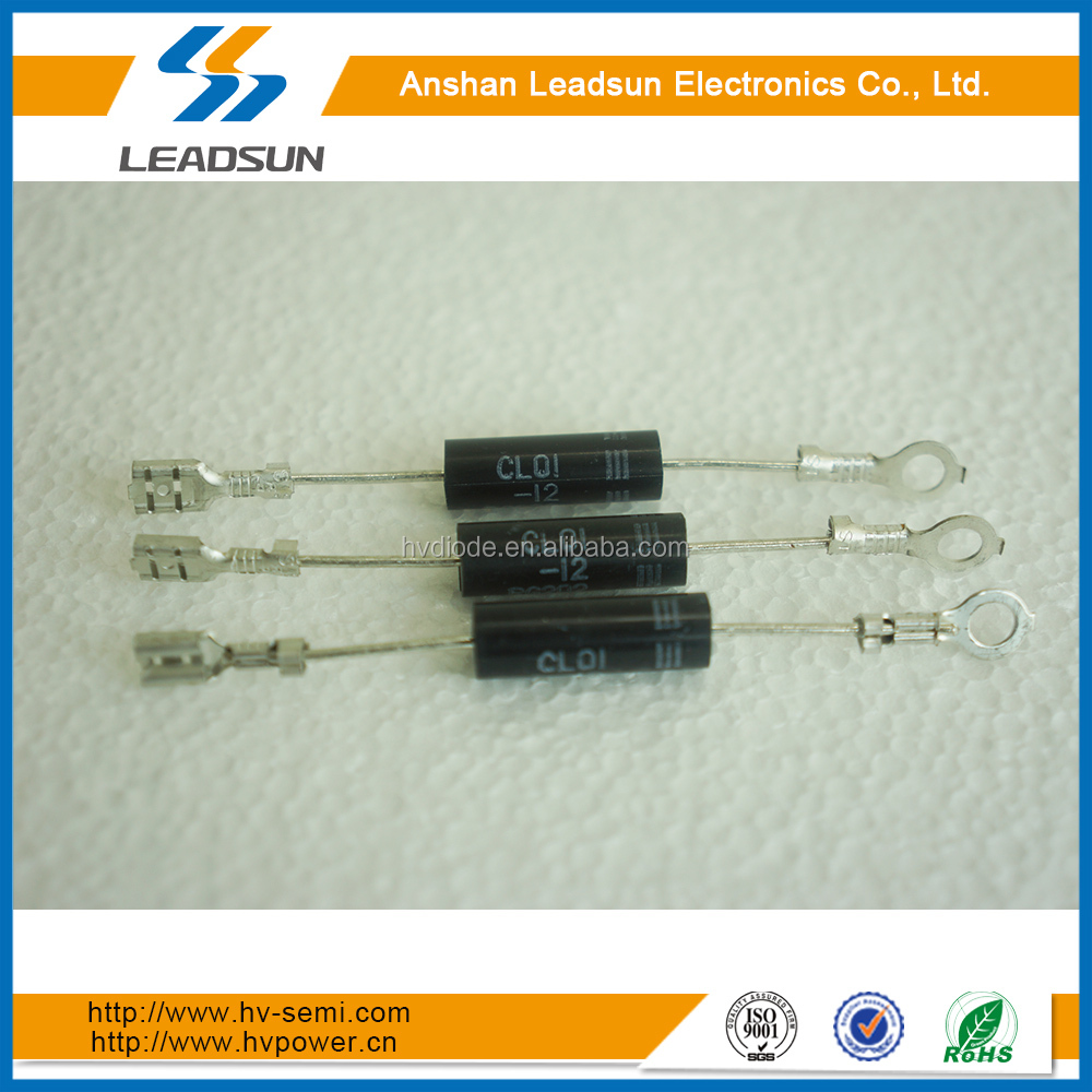 CL01-12 power rectifier diode of 350mA to 500mA with terminals