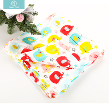 Happyflute muslin baby swaddle wrap bamboo blanket for baby towel