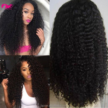 top grade 7A 1#,1b,2#,4# and natural color 100% brazilian virgin hair U part wig kinky curly cheap human hair wig