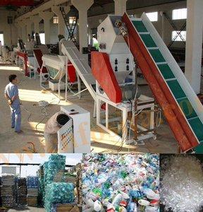 Fosita supply PET 300kg waste plastic bottle recycling washing machine production line