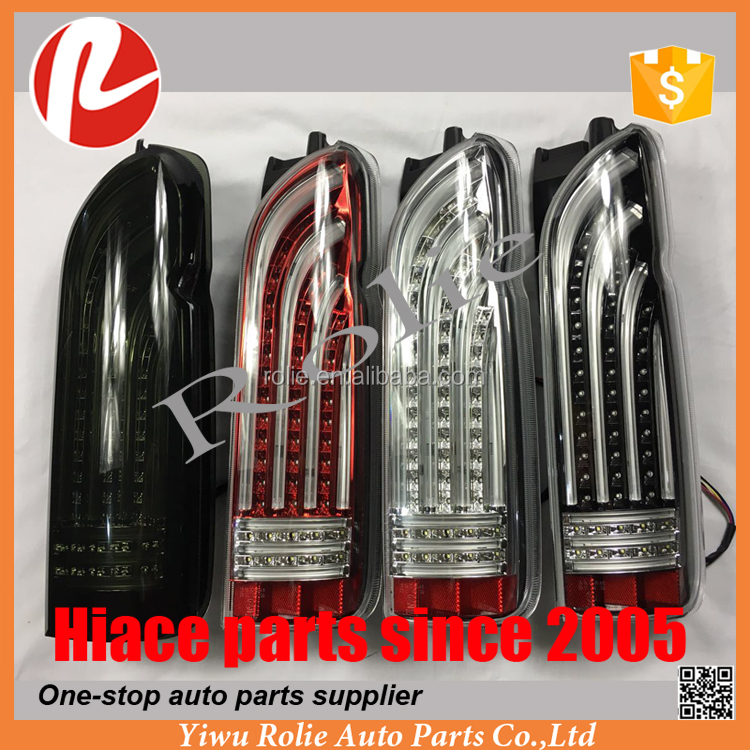 Toyota hiace 200 LED tail lights