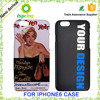 Manufacturer Wholesale, plastic phone cover for i phone6 original with custom deisgn mobile phone case