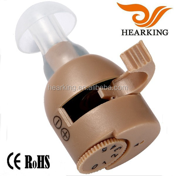 High quality products ITE style invisible China prices ear hearing aids