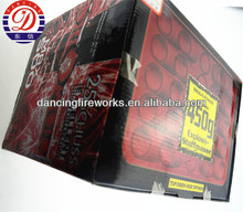 18kg fireworks Fan Shaped Consumer Cake