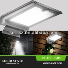3 Years Warranty High Efficiency Emergency Outdoor Wall Mounted Led Solar Light