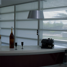 Top selling Custom Motorized Dim Out Window Sheer Shanglila Blinds